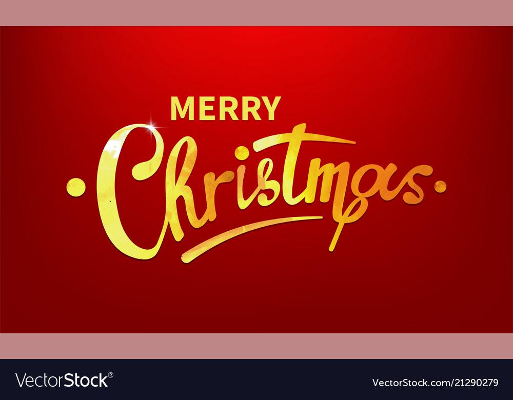 Stock merry christmas shiny