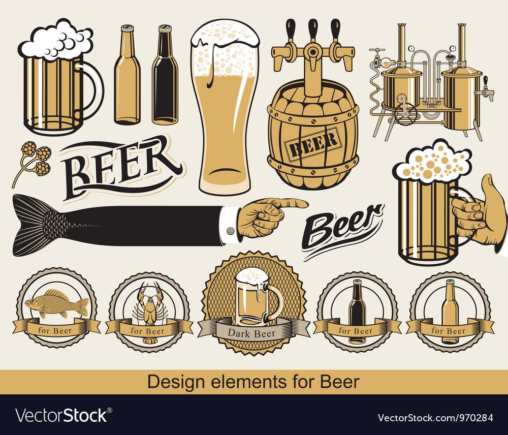 Design for beer