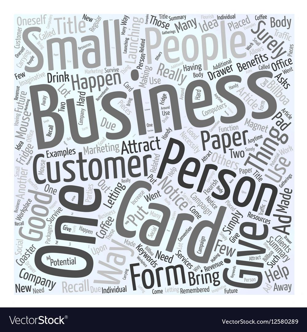 Unique benefits of business cards photo business card ideas benefits of the business cards word cloud concept vector image reheart Images