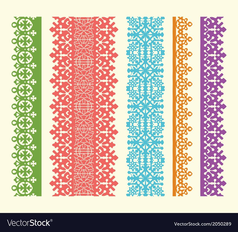 Straight lace set