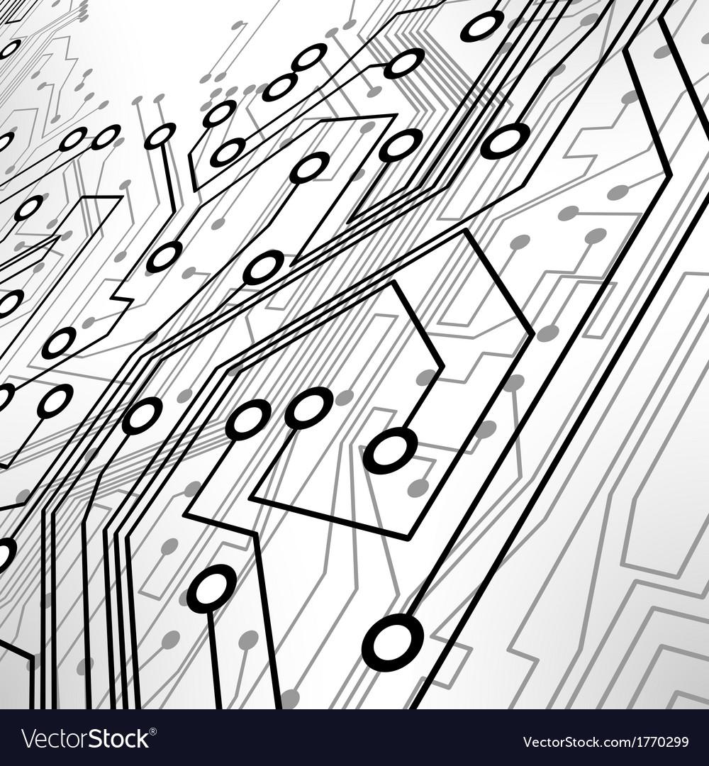 Circuit board Royalty Free Vector Image - VectorStock