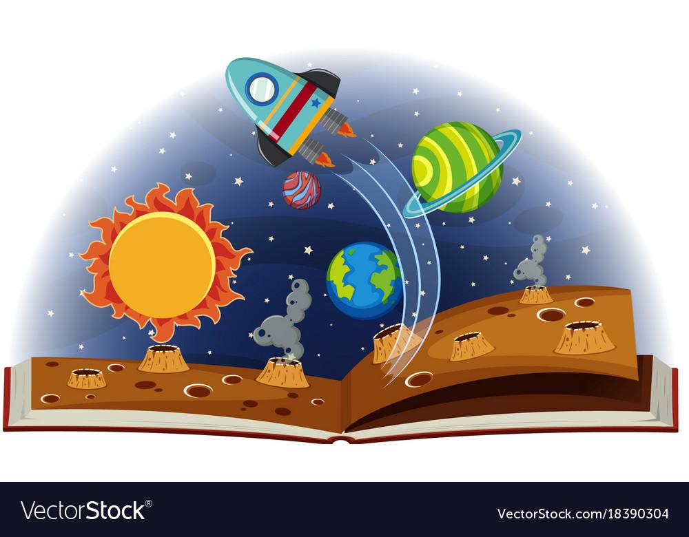 Картинка книга планета