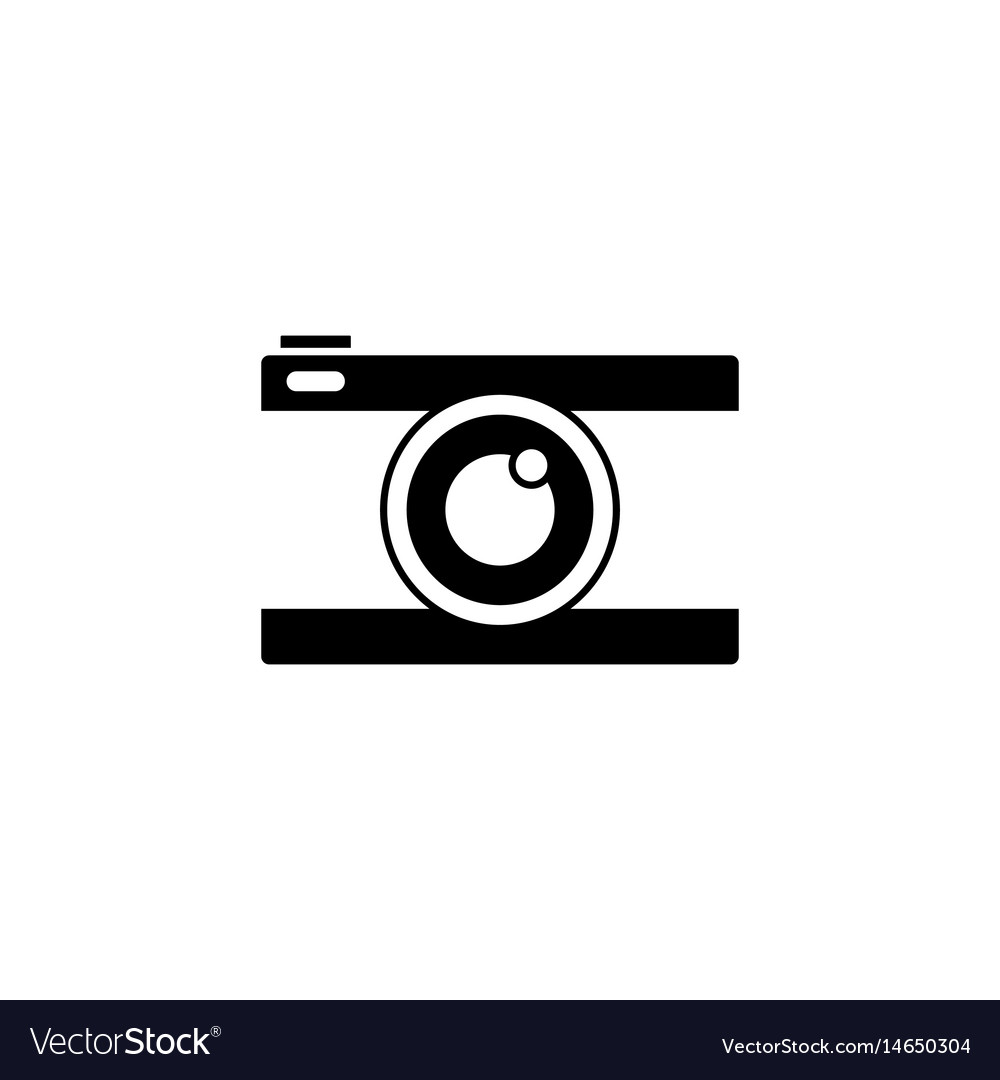 Camera solid icon travel tourism