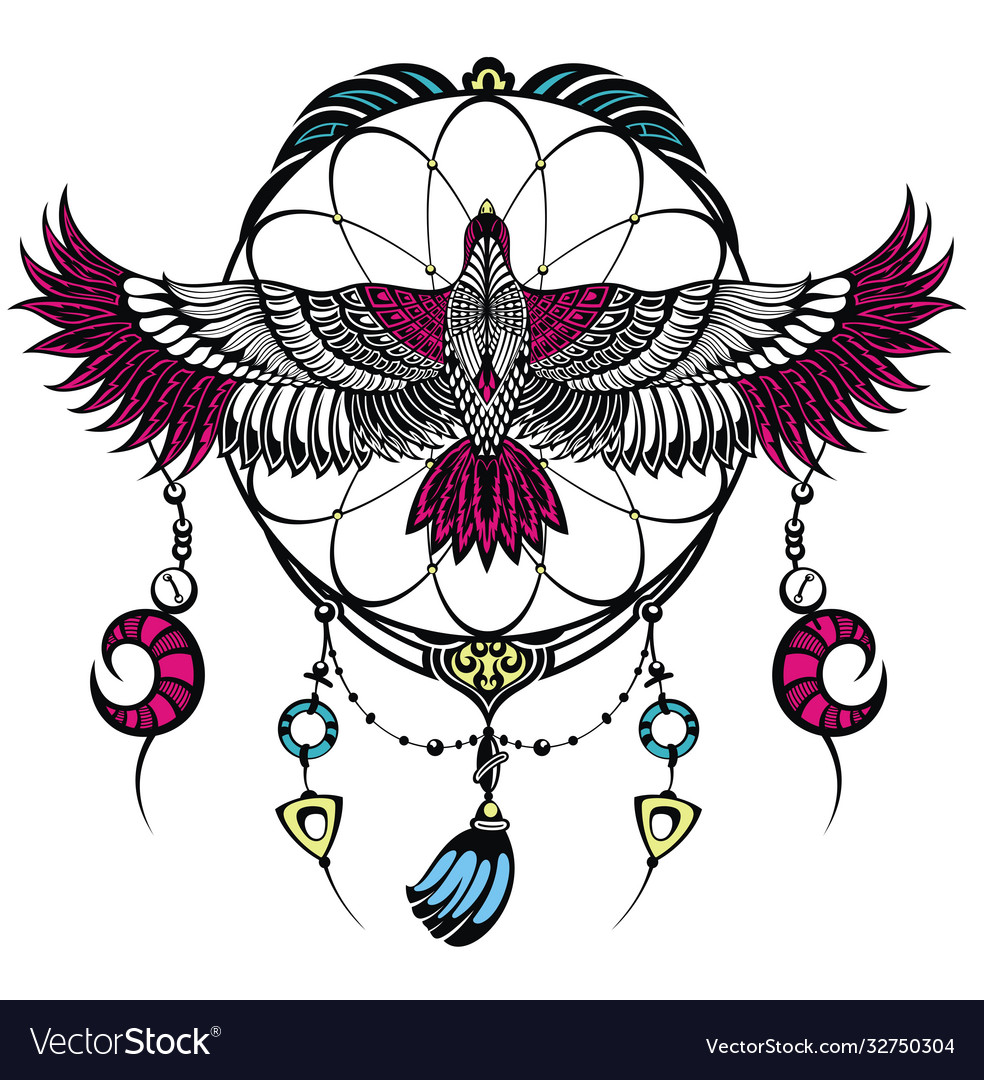 Falcon tattoo logo