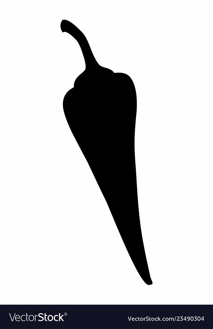 Pepper dark silhouette
