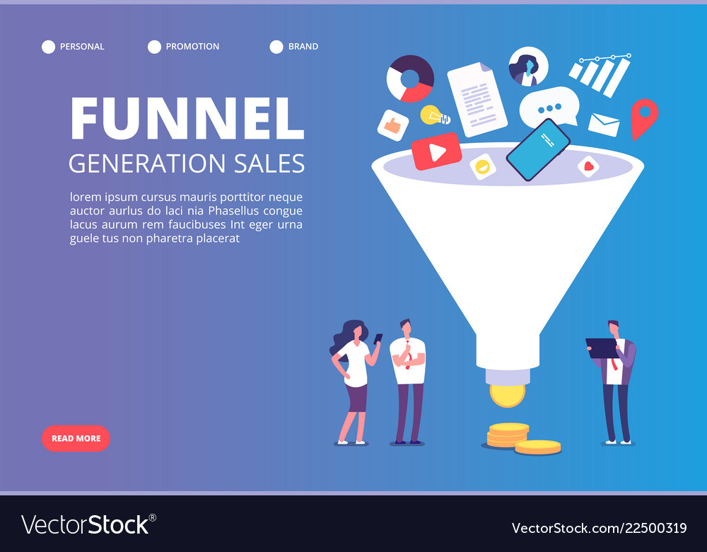 Funnel sale generation digital marketing funnel