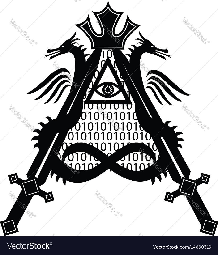 Letter a in symbols