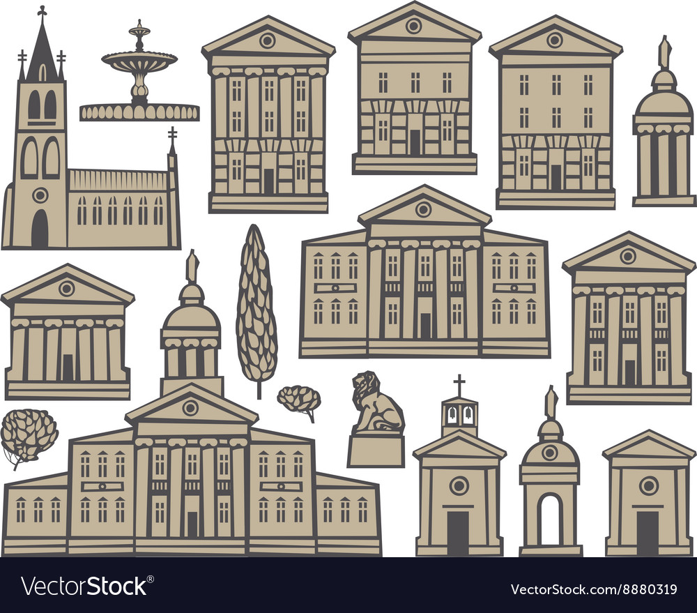 Set houses and churches