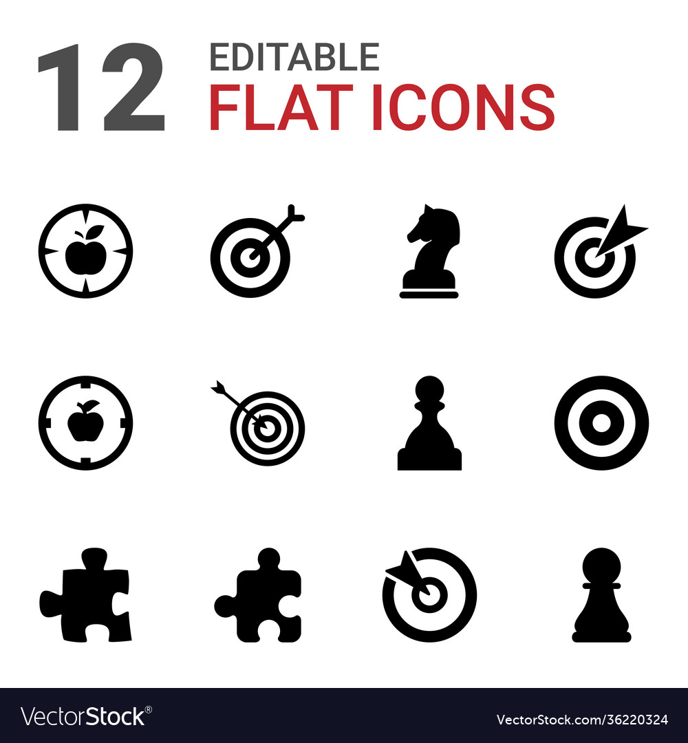 12 strategy icons
