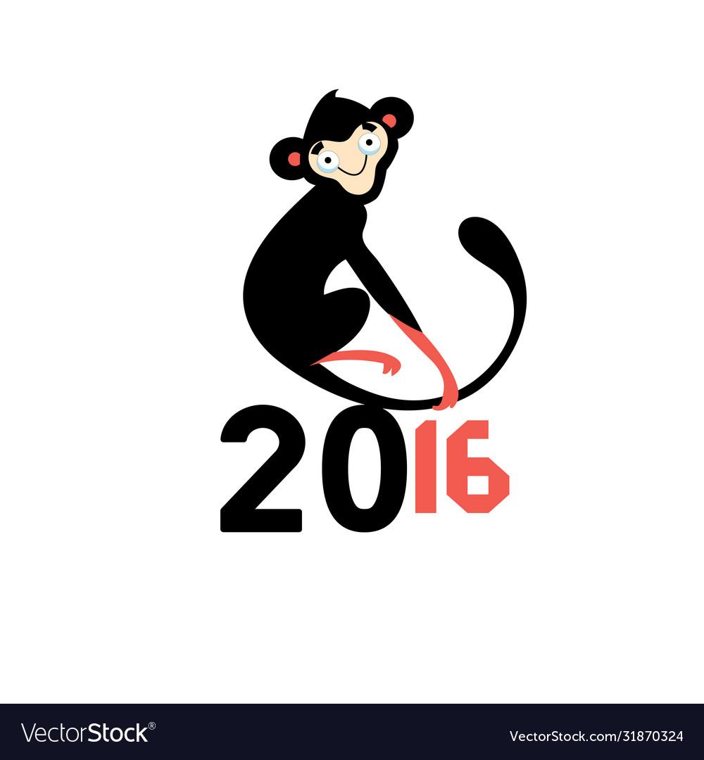 Happy new year 2016 monkeys