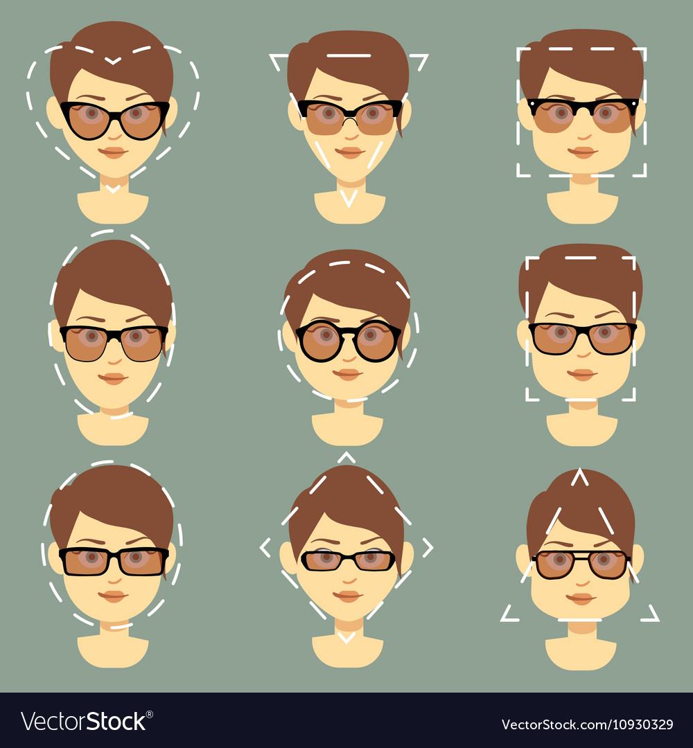 Sunglasses Faces Different For Women Type Suitable 0wnNm8