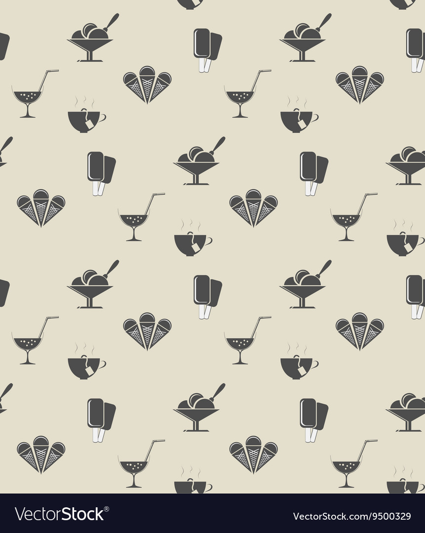 Pattern tablecloth vector image