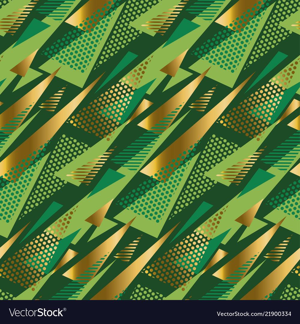 Abstract geometric xmas vibes luxury pattern