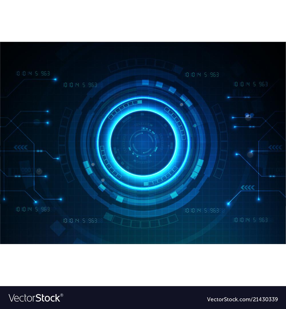 Dark blue technology game background