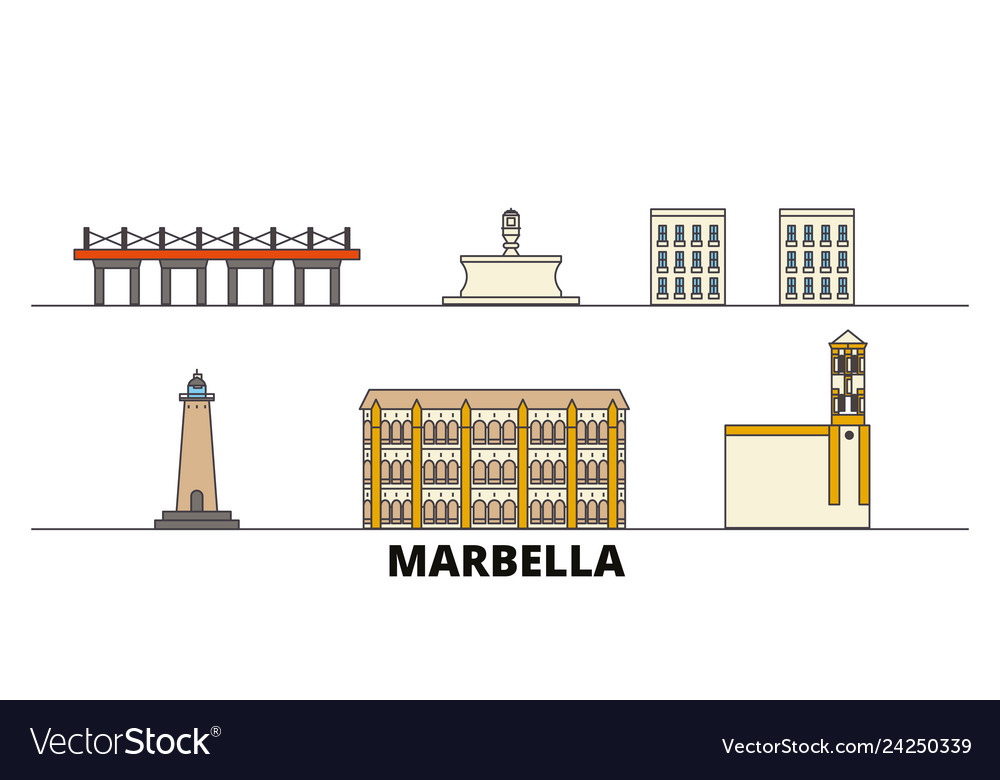 Spain marbella flat landmarks