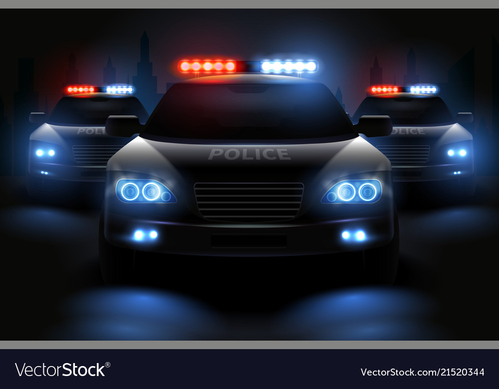 Police light bar composition