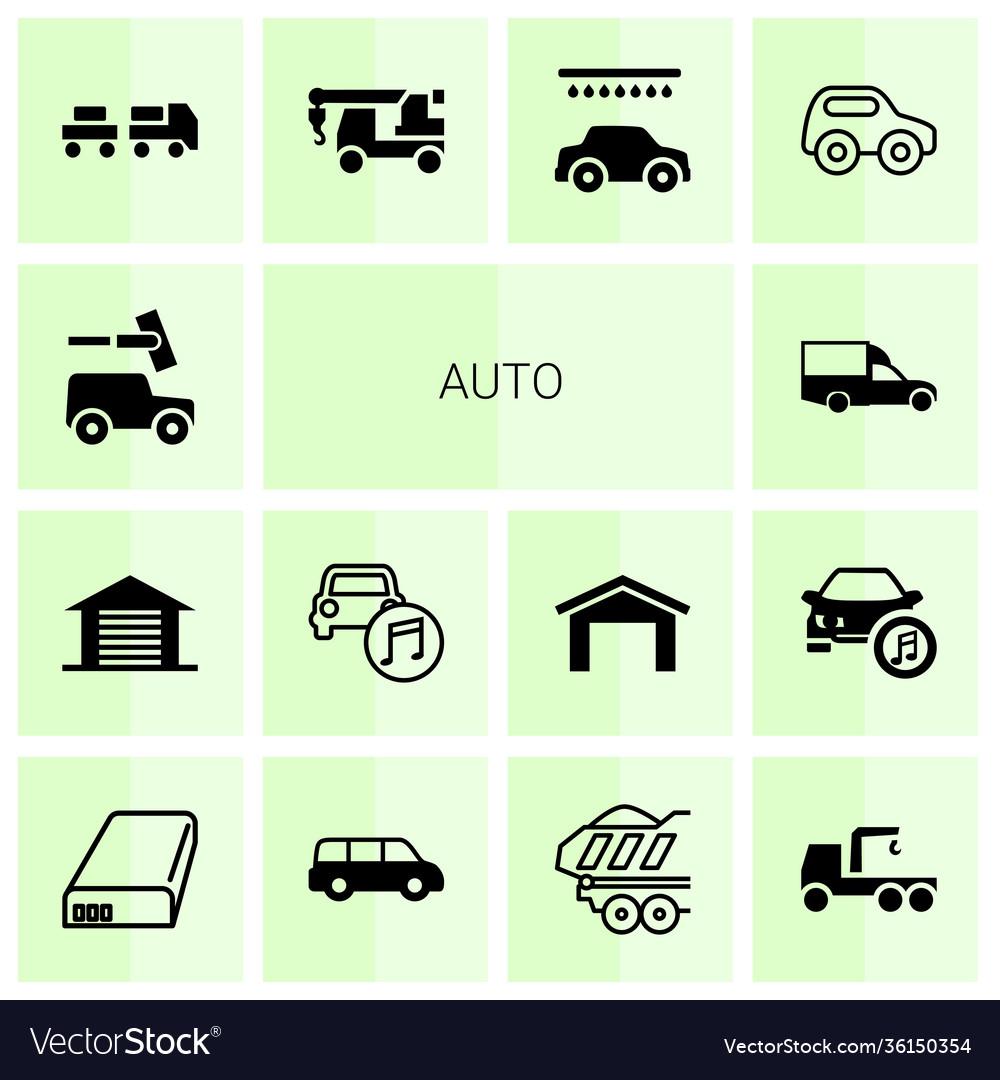 14 auto icons