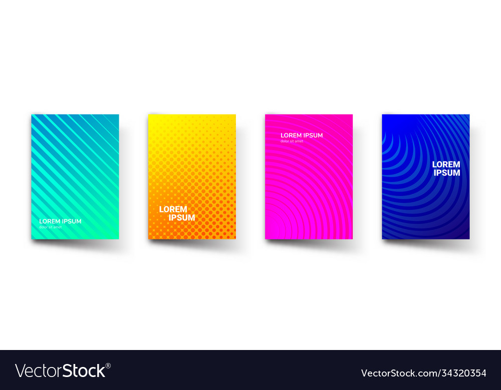 Pattern gradient background abstract templates