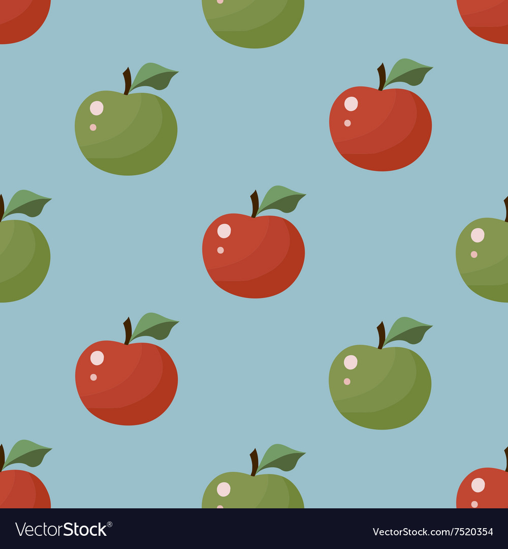 Seamless Texture Apple pattern
