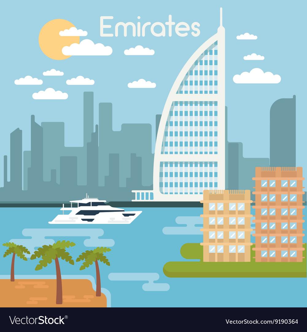 Burj Al Arab Hotel Dubai Urban Cityscape Dubai