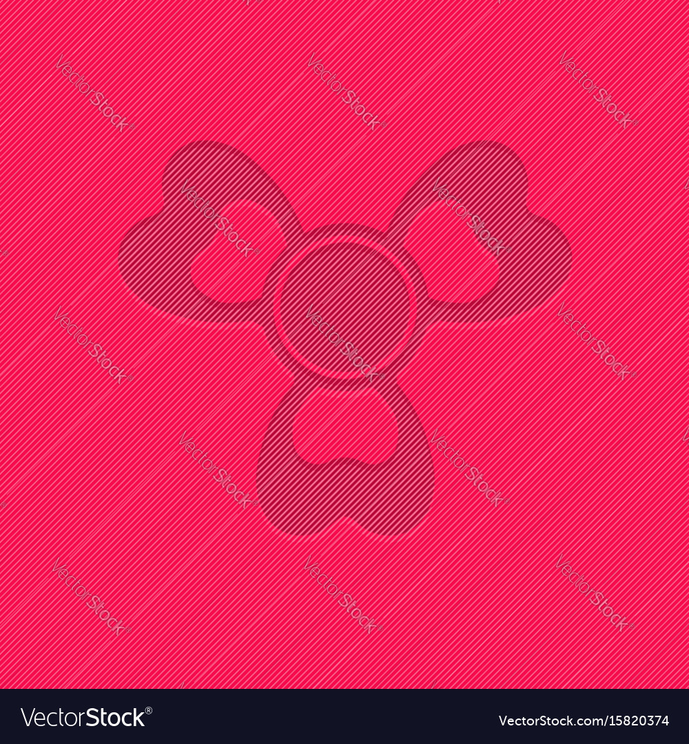 Hand spinner toys flat background vector image
