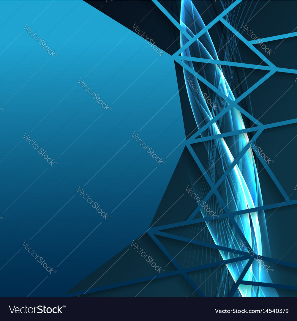 Bright frame with speed swoosh wave lines vector image
