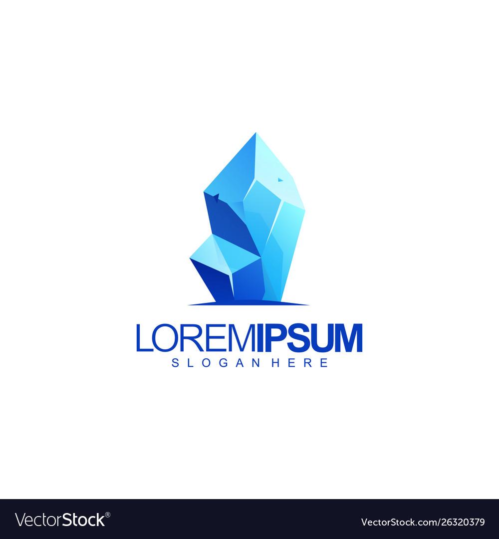Ice logo design