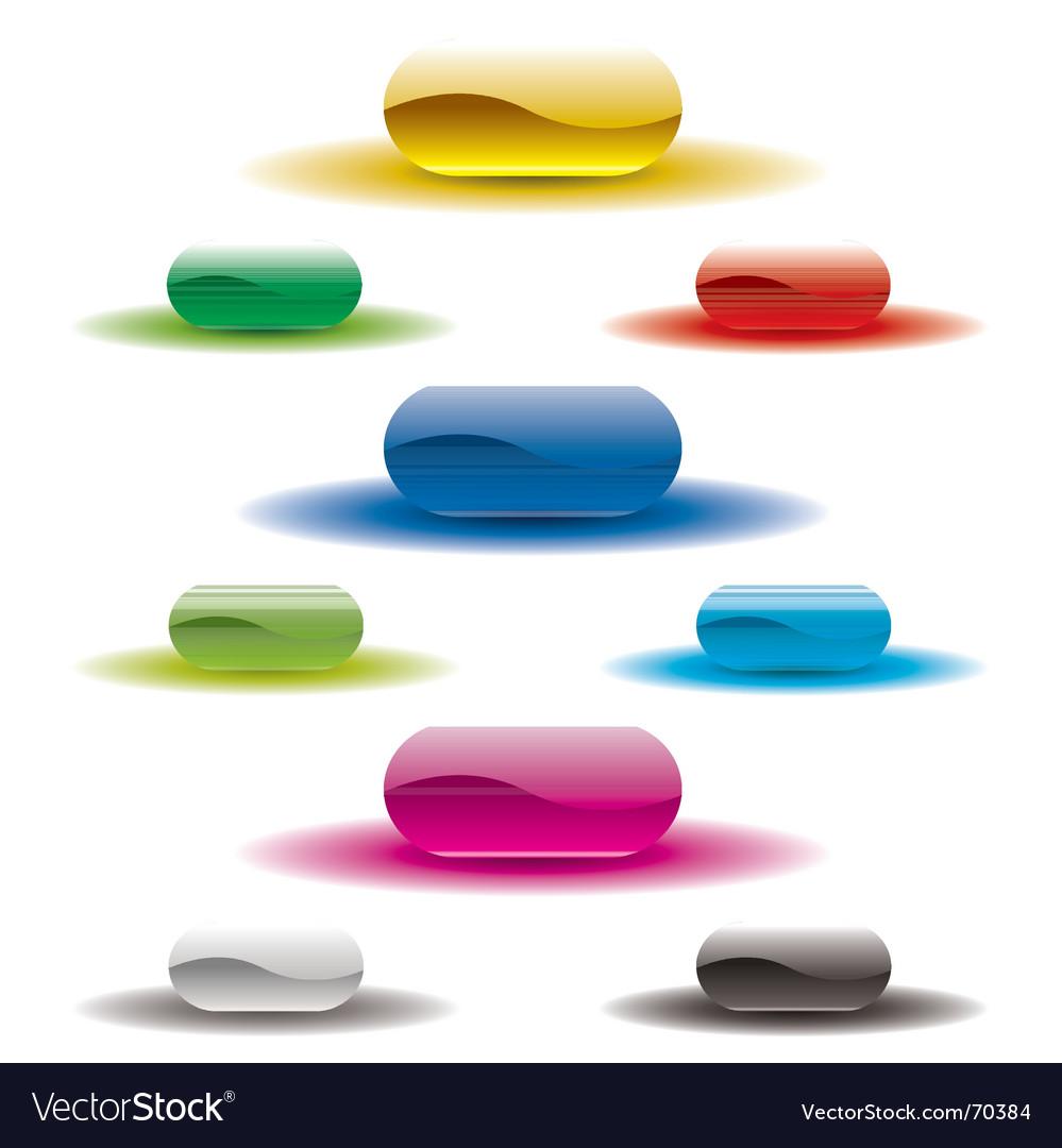Button glow white