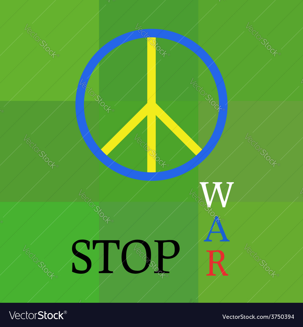Peace template about war aggression