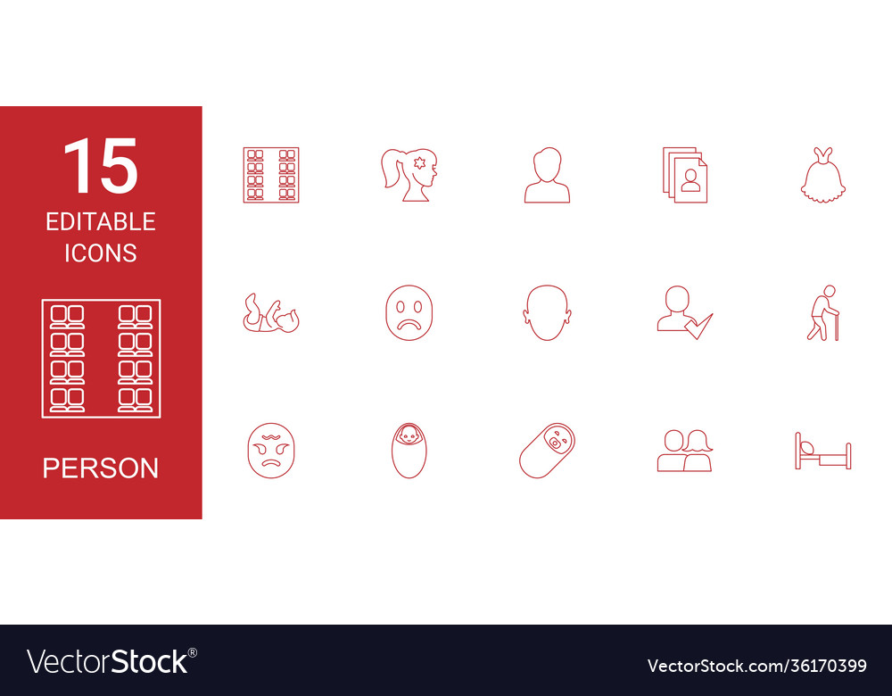 15 person icons