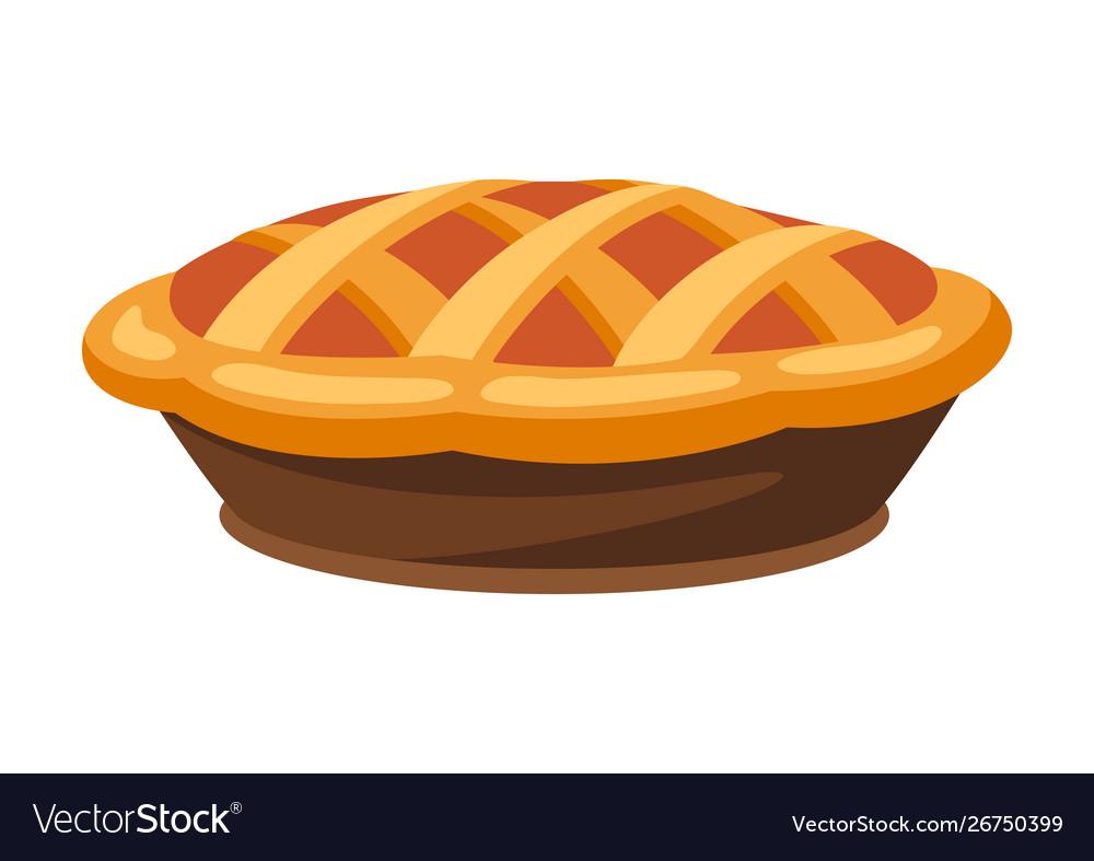 Happy thanksgiving turkey pie