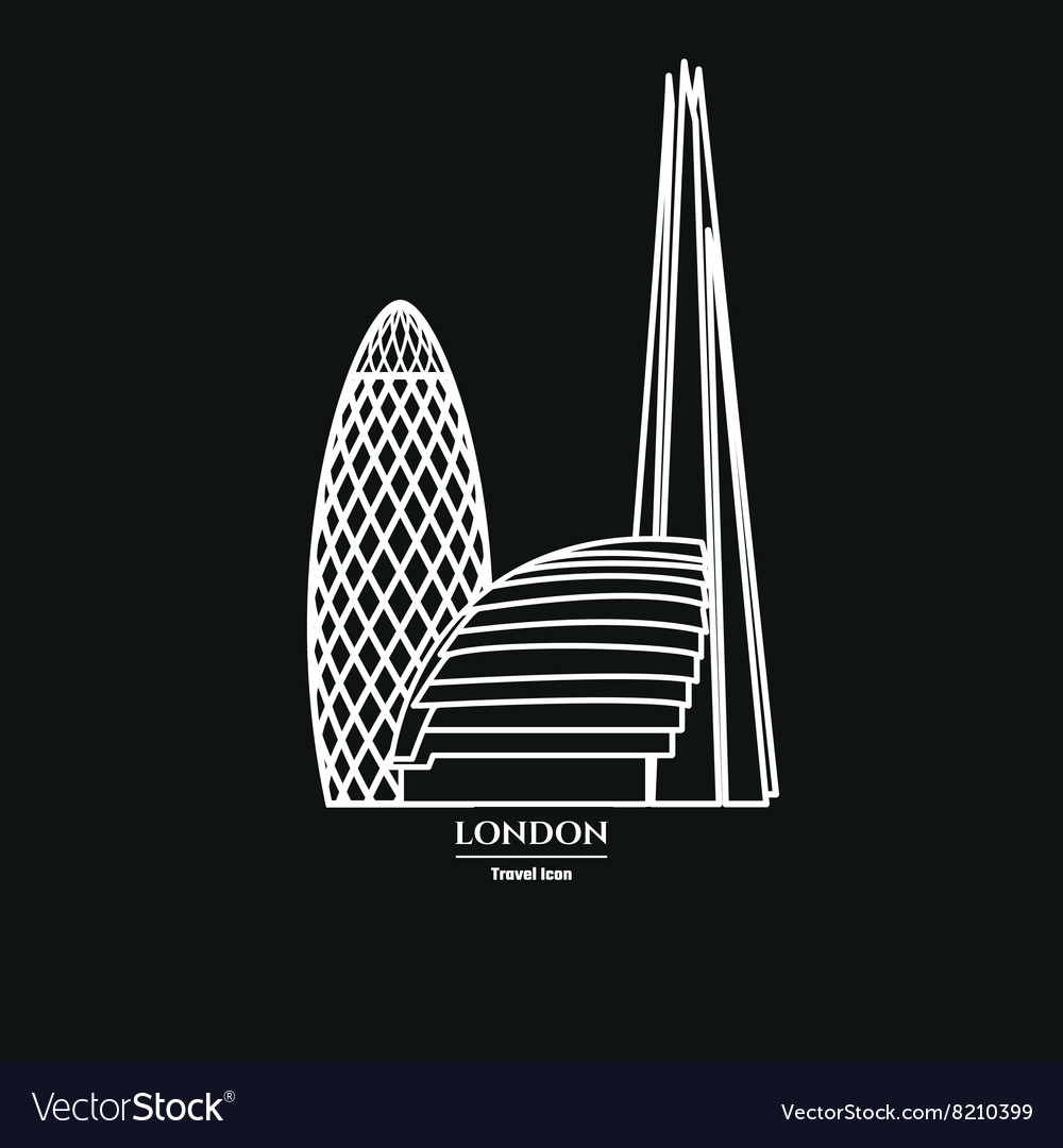 London Icon Outline 1