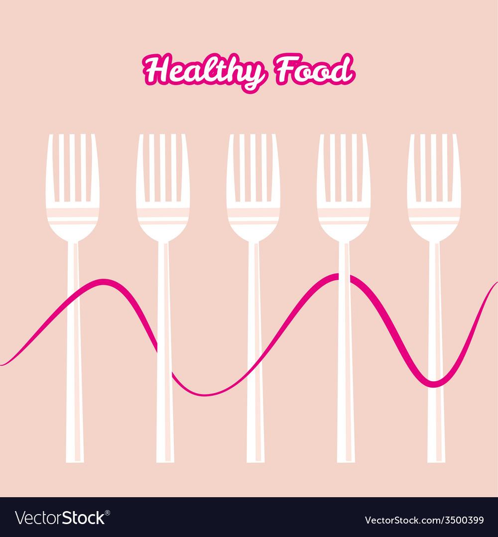Tableware set of fork
