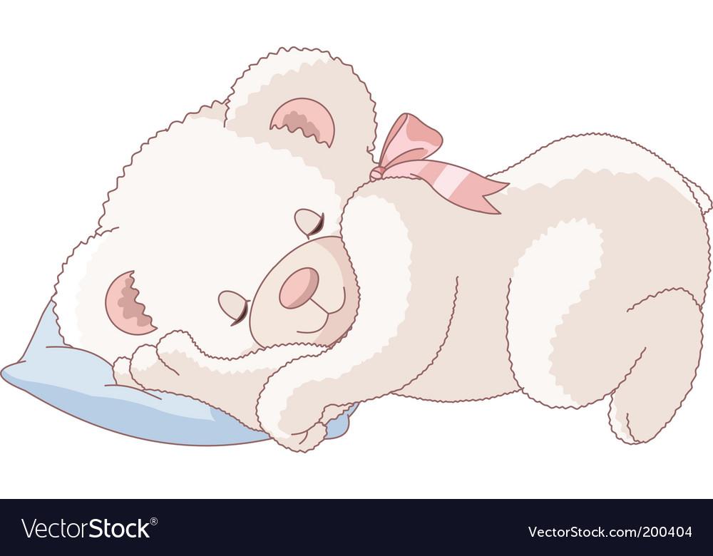 Vektörel Uyuyan Hayvanlar