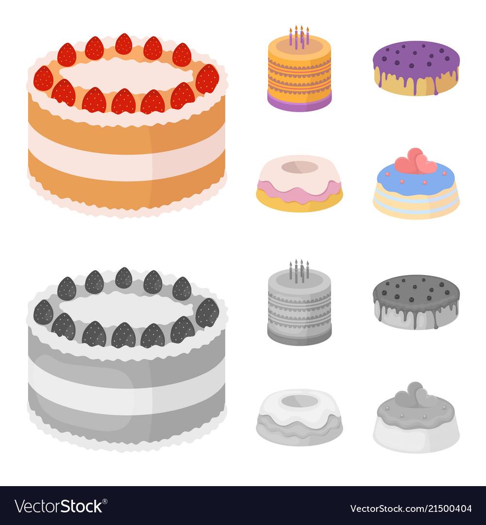 Incredible Sweetness Dessert Cream Treacle Cakes Country Vector Image Funny Birthday Cards Online Elaedamsfinfo