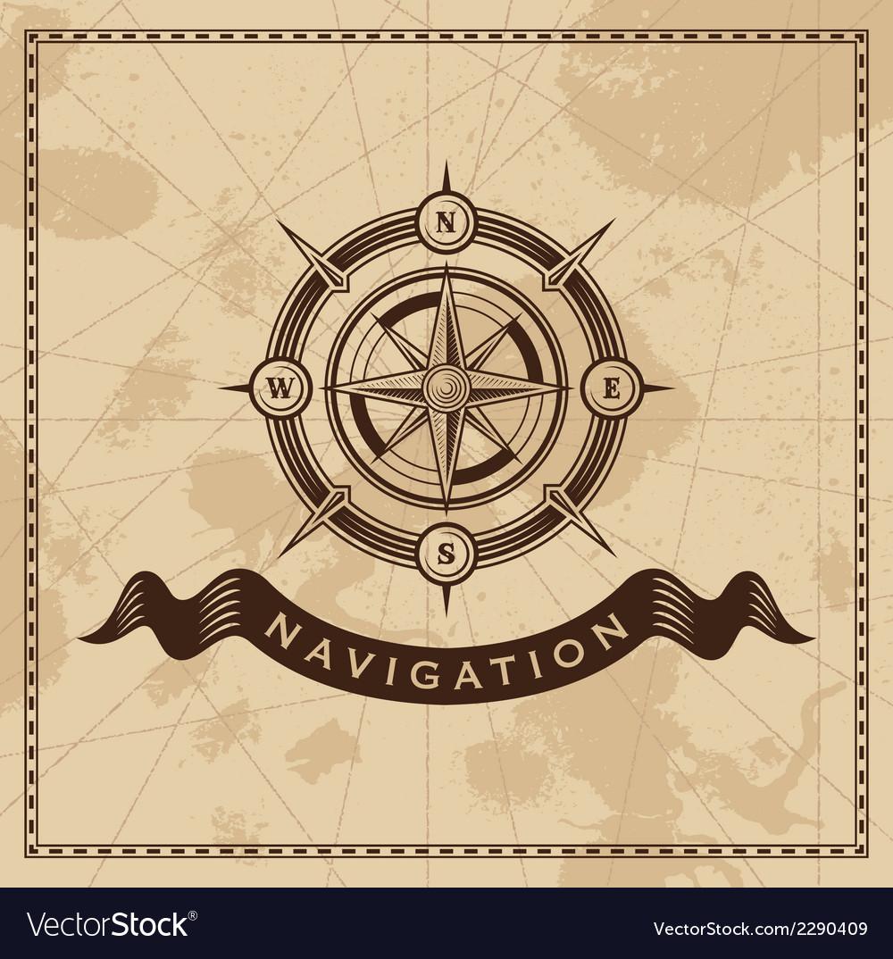 Wind Rose - nautical compass