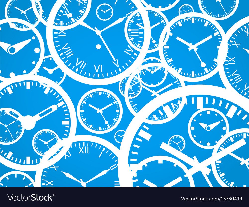 Clock background - isolated