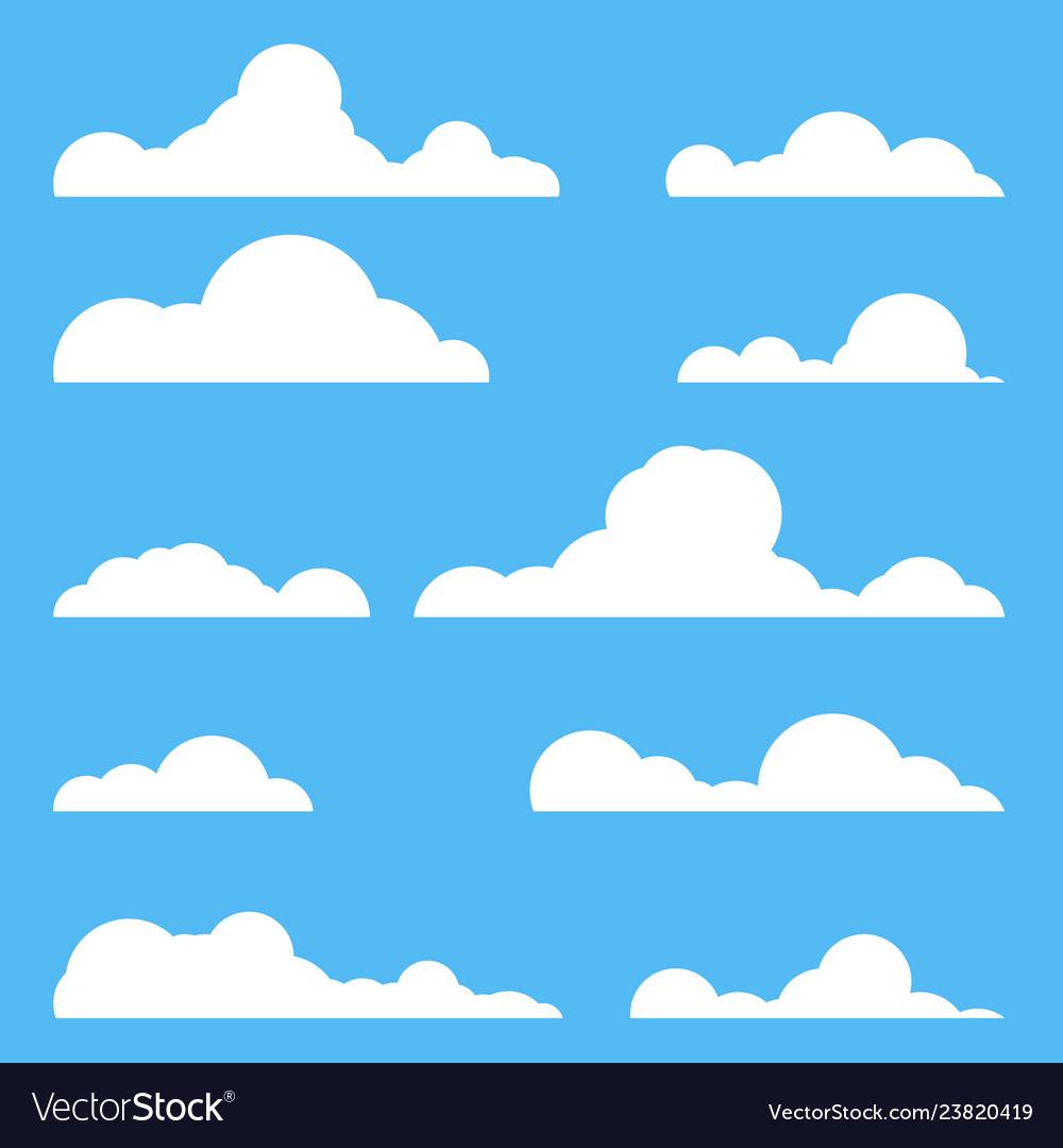 Set clouds
