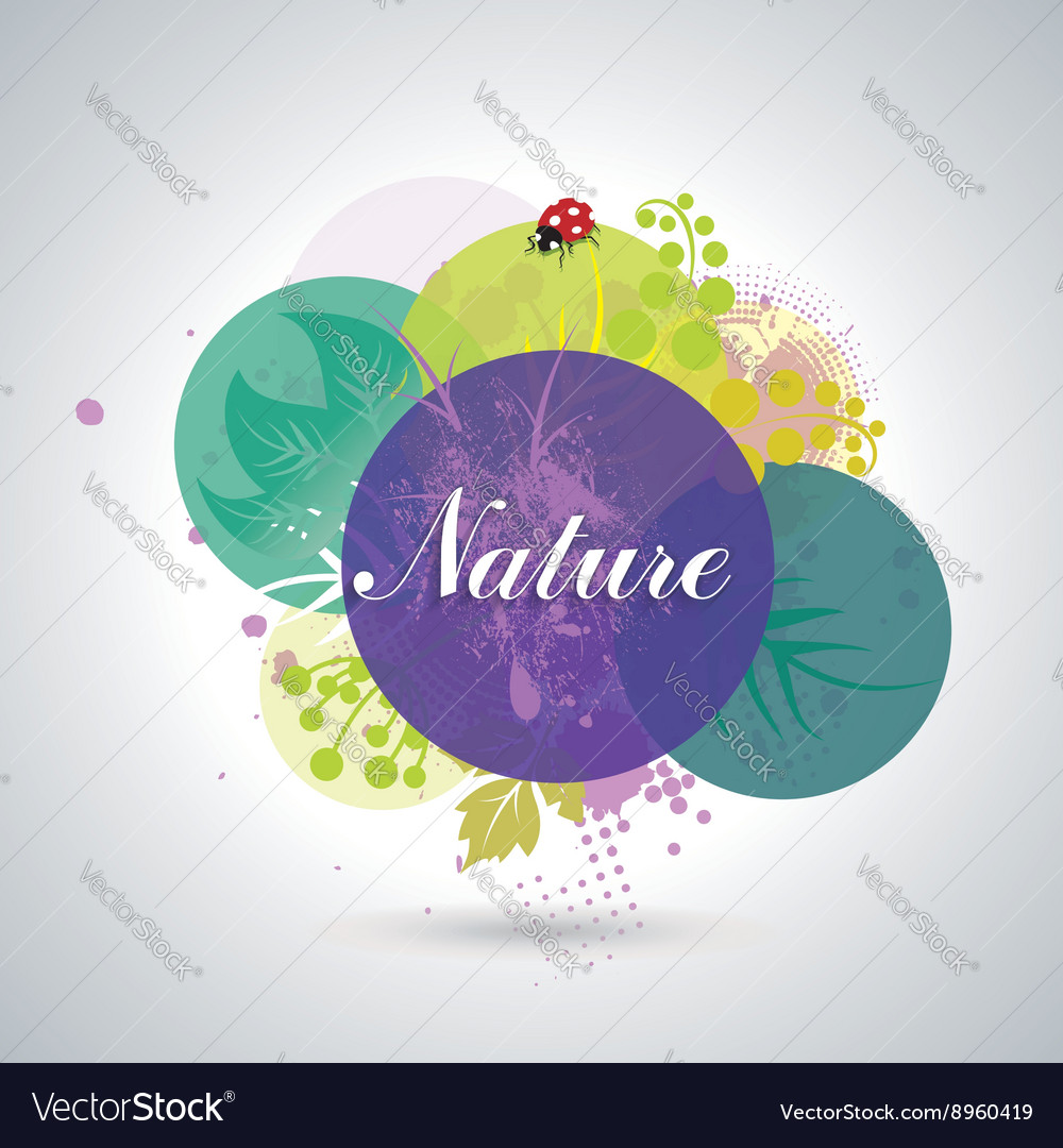 Spring or Summer Floral Background