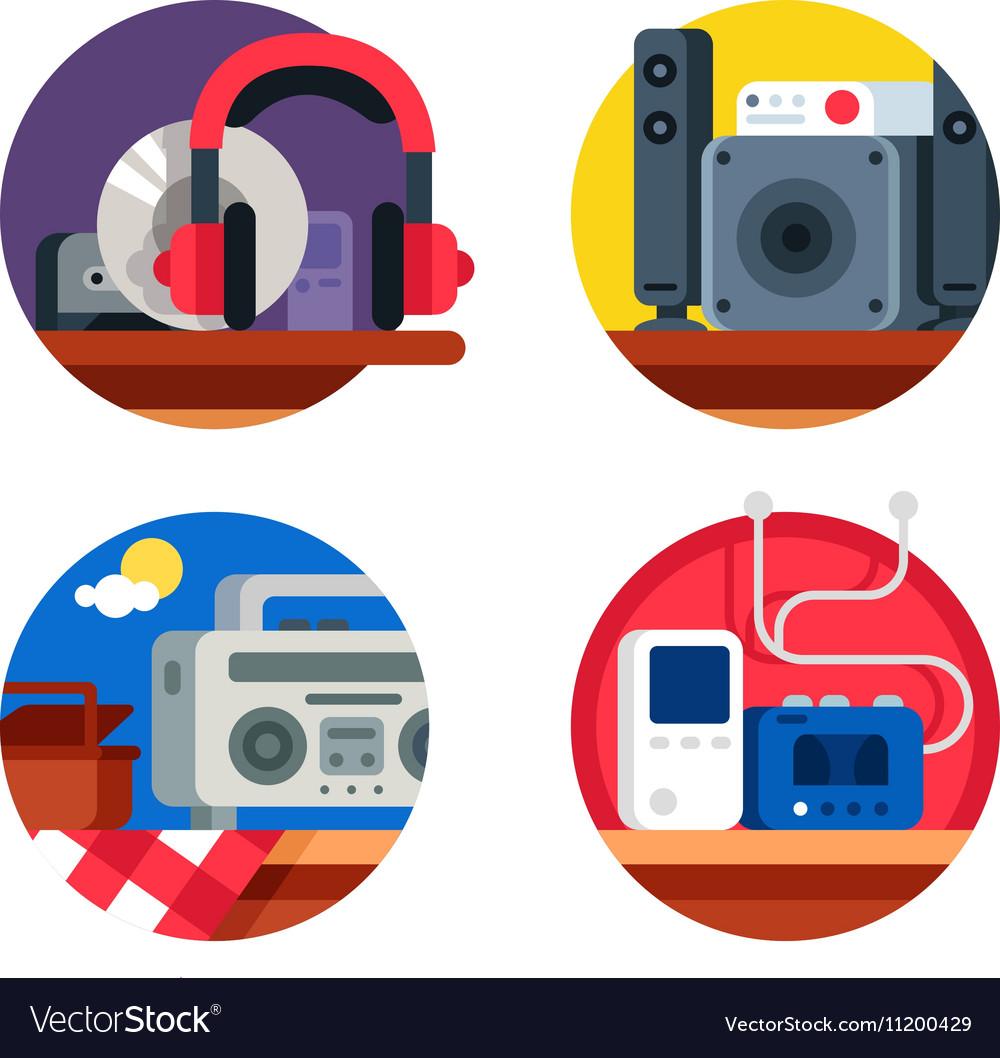 Audio device set