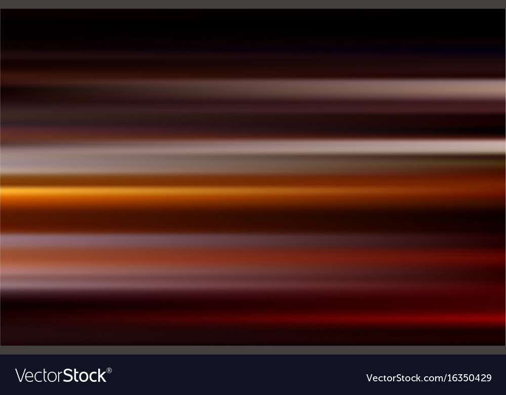 Red abstract speed motion blur of night lights in