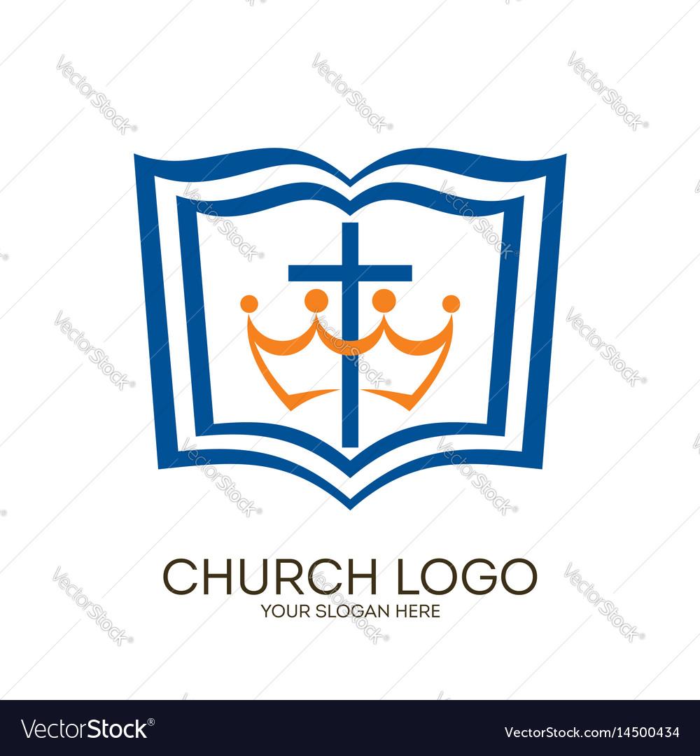 Bible Cross Logo