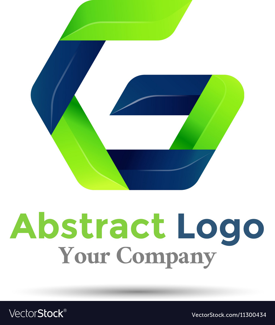 Letter G ecology sprout logo design Green icon