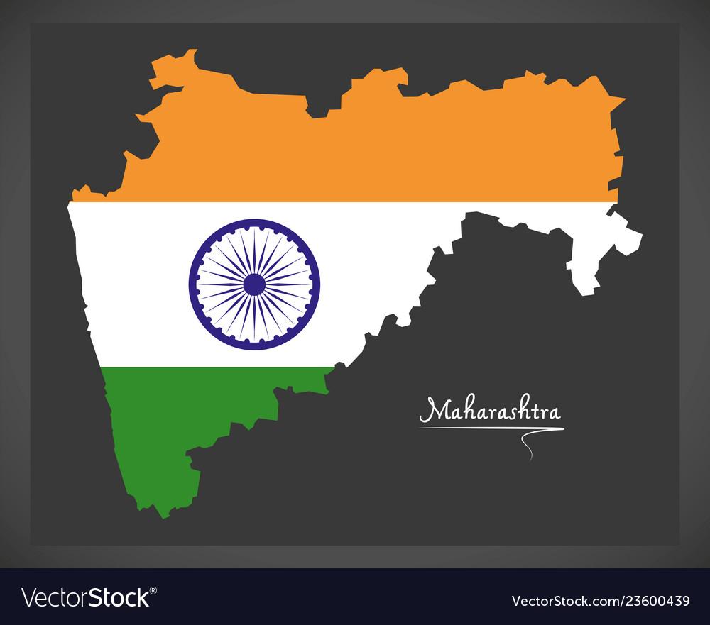 Maharashtra map with indian national flag on ajanta on map, goa map, bihar map, india map, nagaland map, arunachal pradesh map, madhya pradesh map, kashmir map, andhra pradesh map, west bengal map, aurangabad map, nagpur map, chhatrapati shivaji international airport map, meghalaya map, pune region map, punjab map, gujarat map, palghar district map, tripura map, mumbai map,
