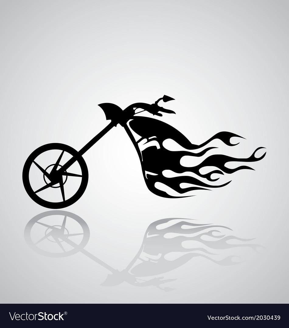 Motorcycle Tribal