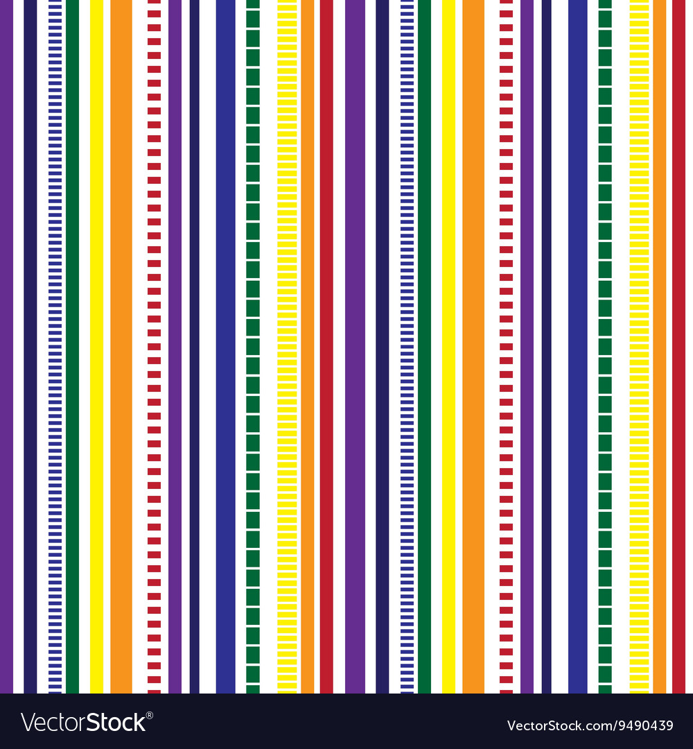 Stripes Seamless pattern Rainbow colors pattern