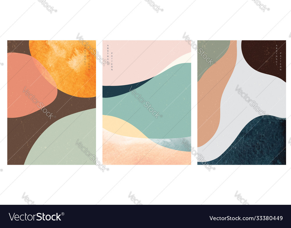 Abstract background with watercolor texture art