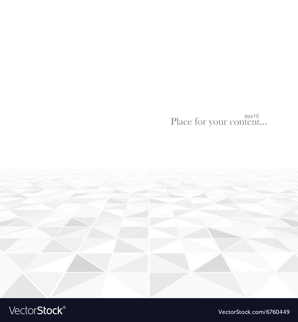 Abstract geometric background with a perspective vector image