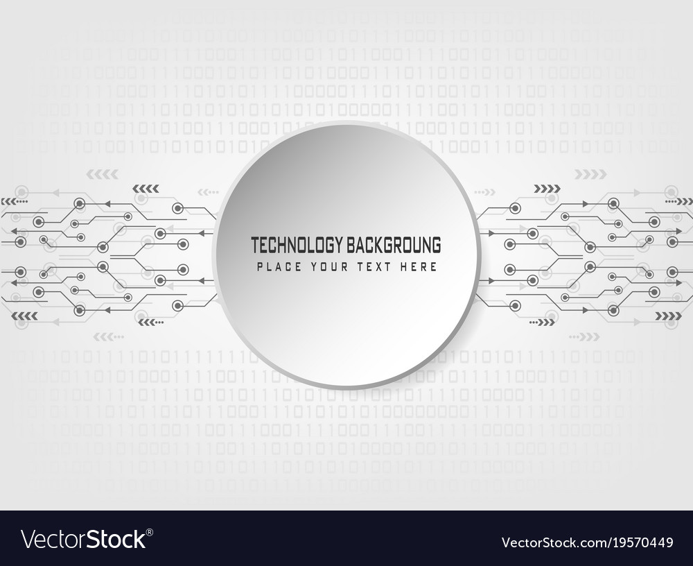 Abstract technology with binary code background