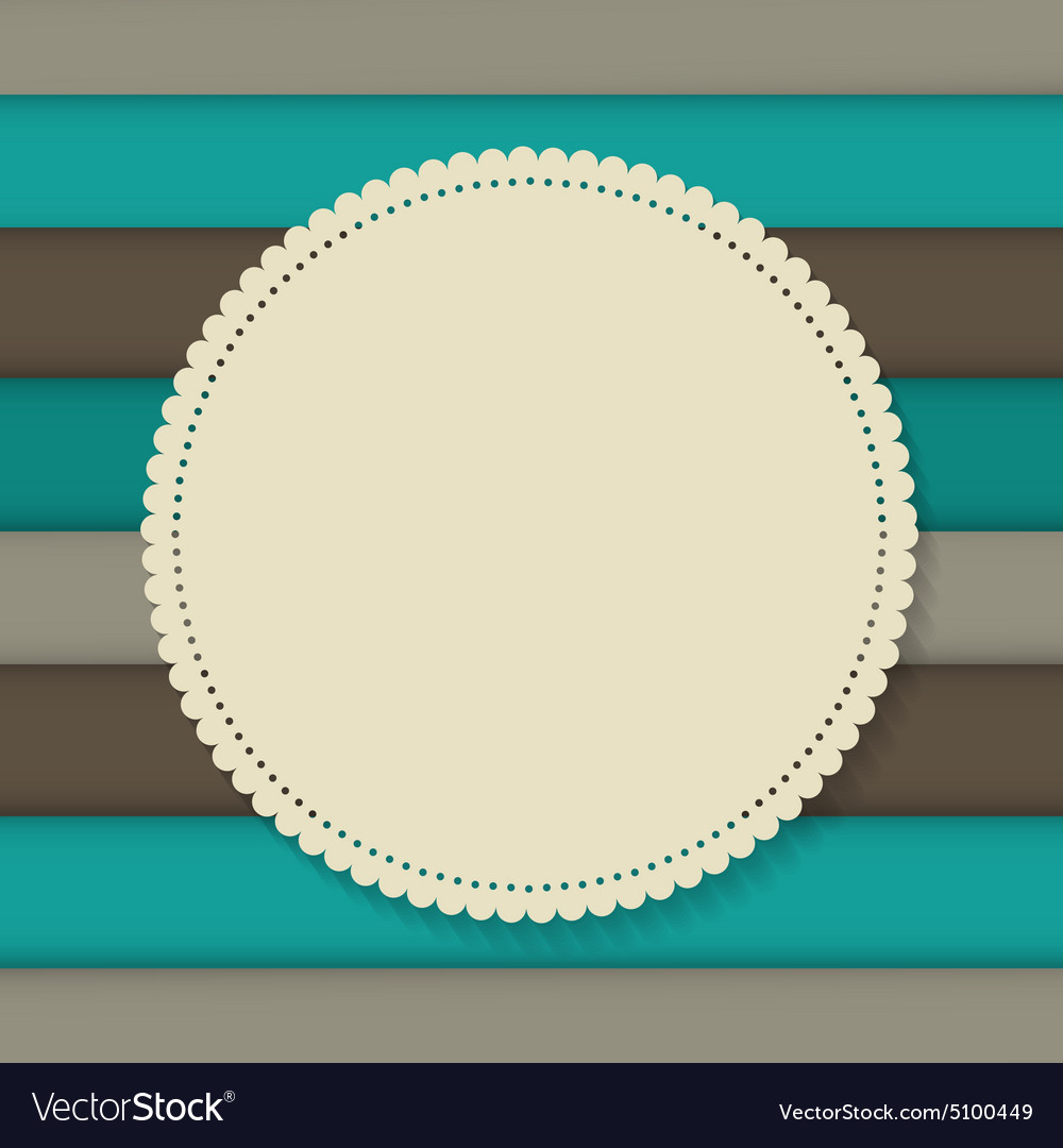 retro vintage background template royalty free vector image